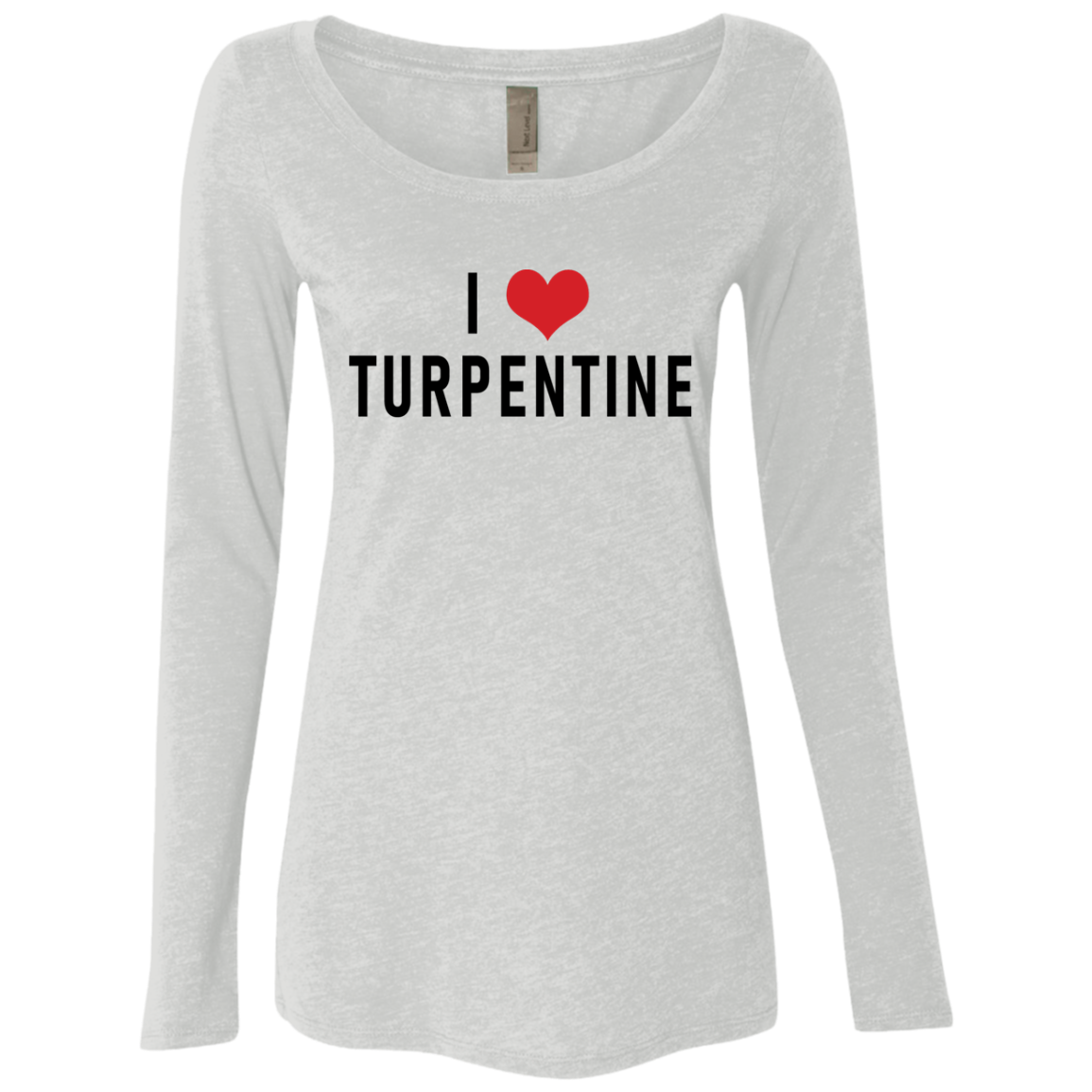 I Love Turpentine Women's Long Sleeve Tee