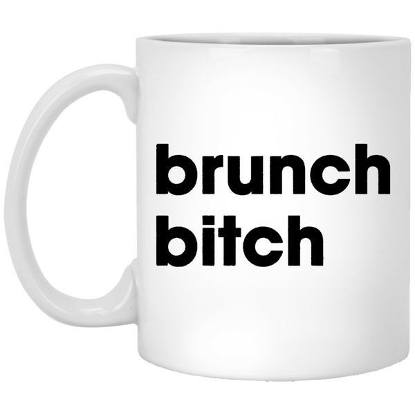Brunch Bitch 11 oz. White Coffee Mug - Trendy Tees