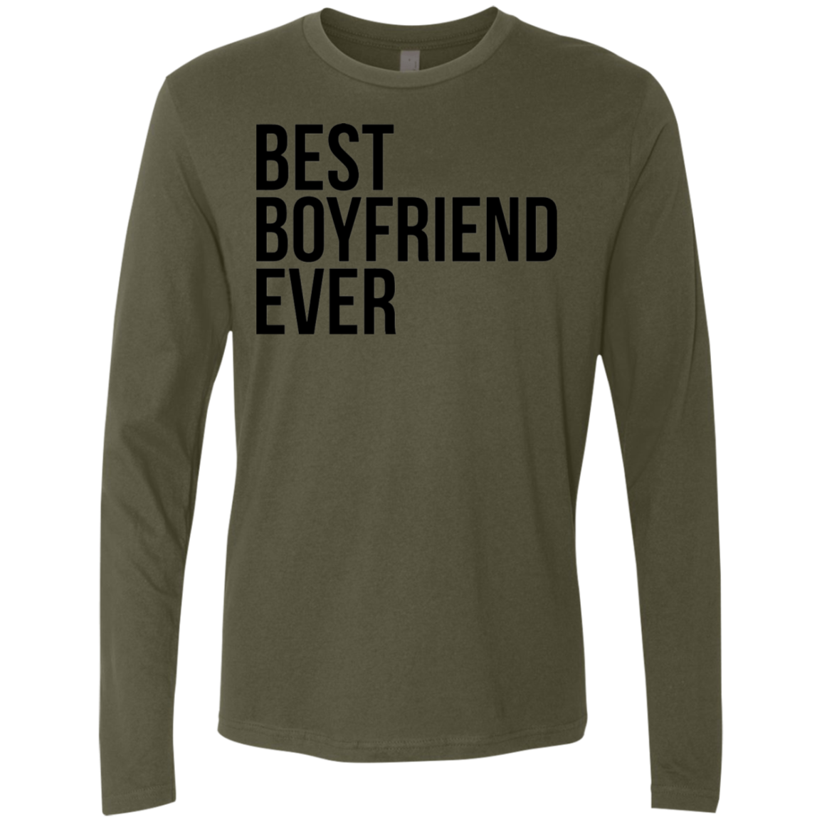 Best Boyfriend Ever Men's Long Sleeve Tee - Trendy Tees