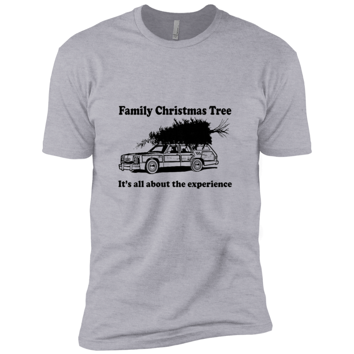 Family Christmas Tree It's About The Experience Men's Classic Tee