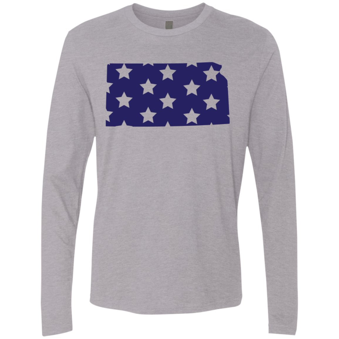 Kansas Stars Men's Long Sleeve Tee
