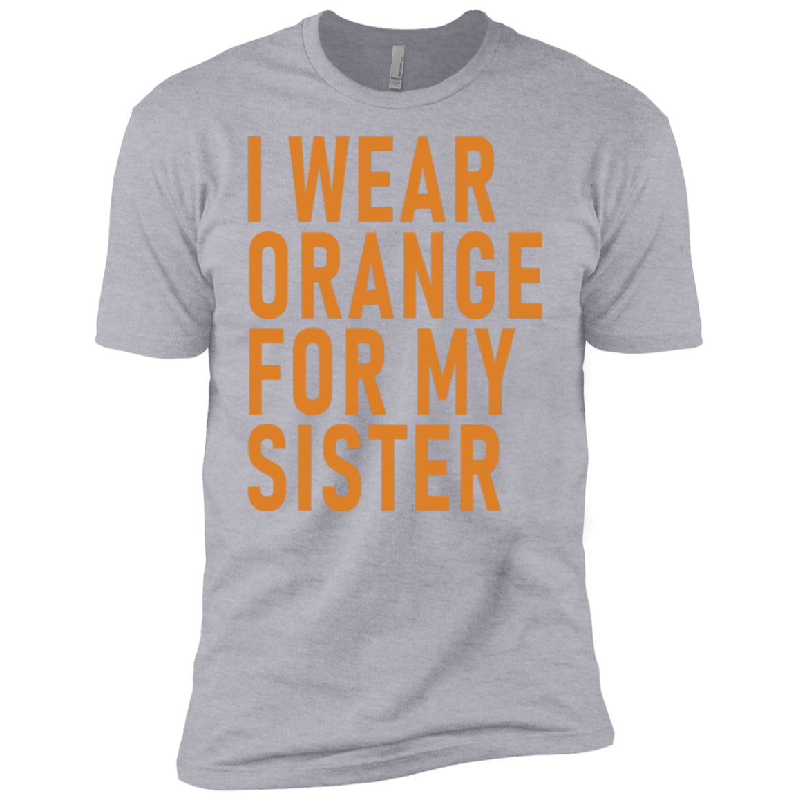 I Wear Orange For My Sister Men's Classic Tee