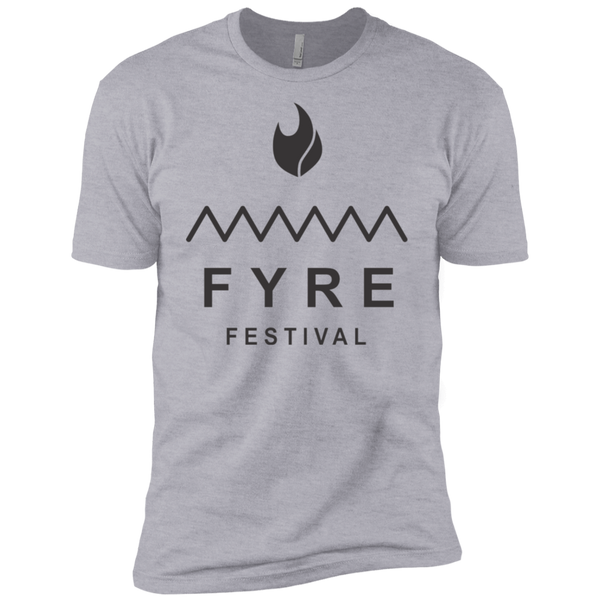 Fyre Festival was Lit Black Men's Classic Tee - Trendy Tees