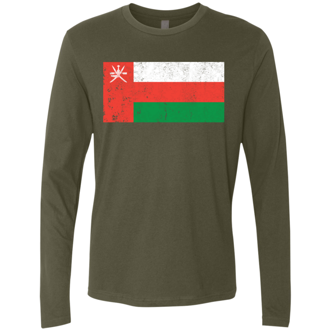 Oman Men's Long Sleeve Tee