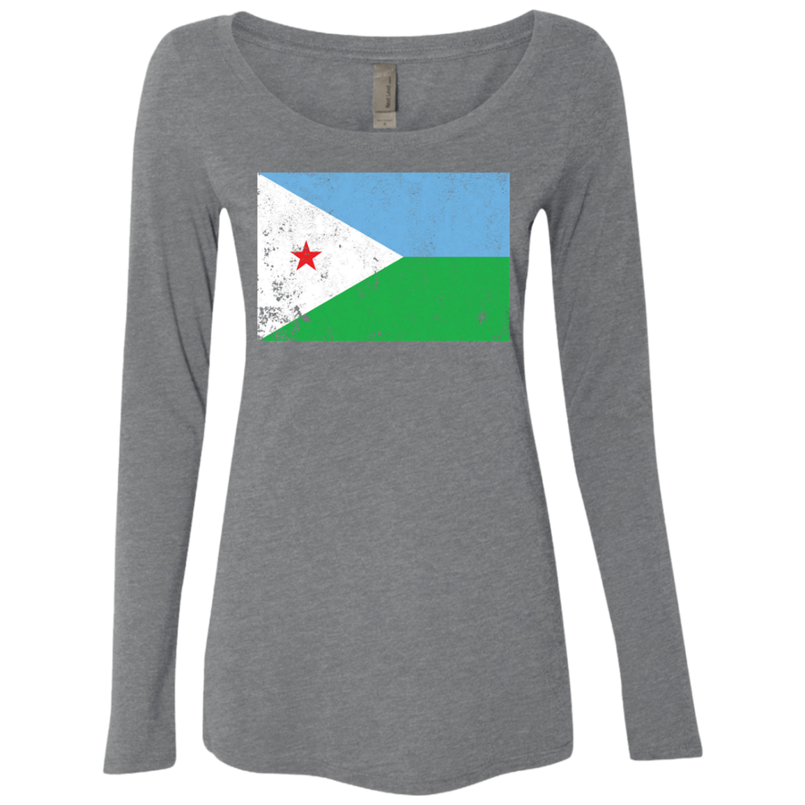 Djibouty Women's Long Sleeve Tee