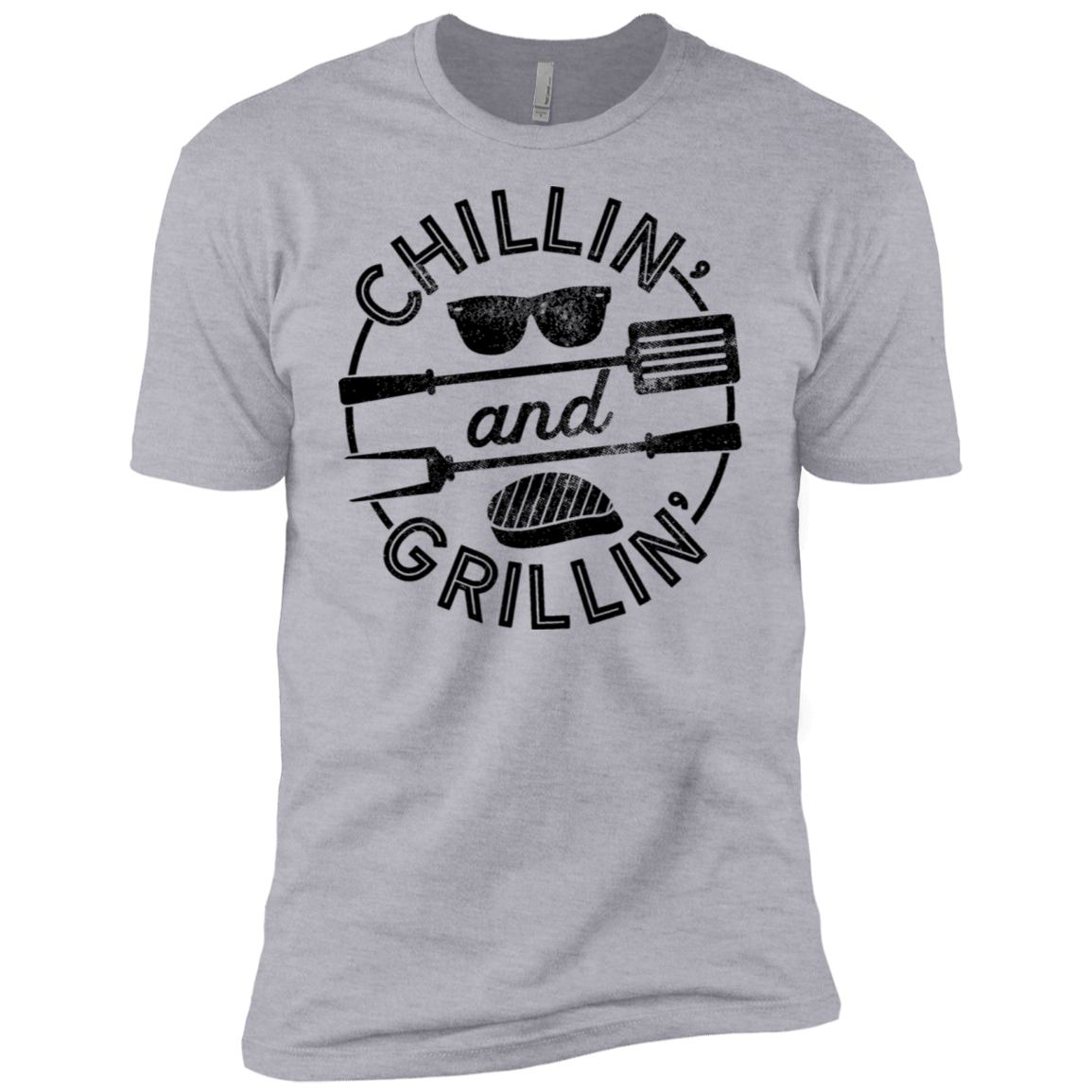 Chillin and Grillin Men's Classic Tee