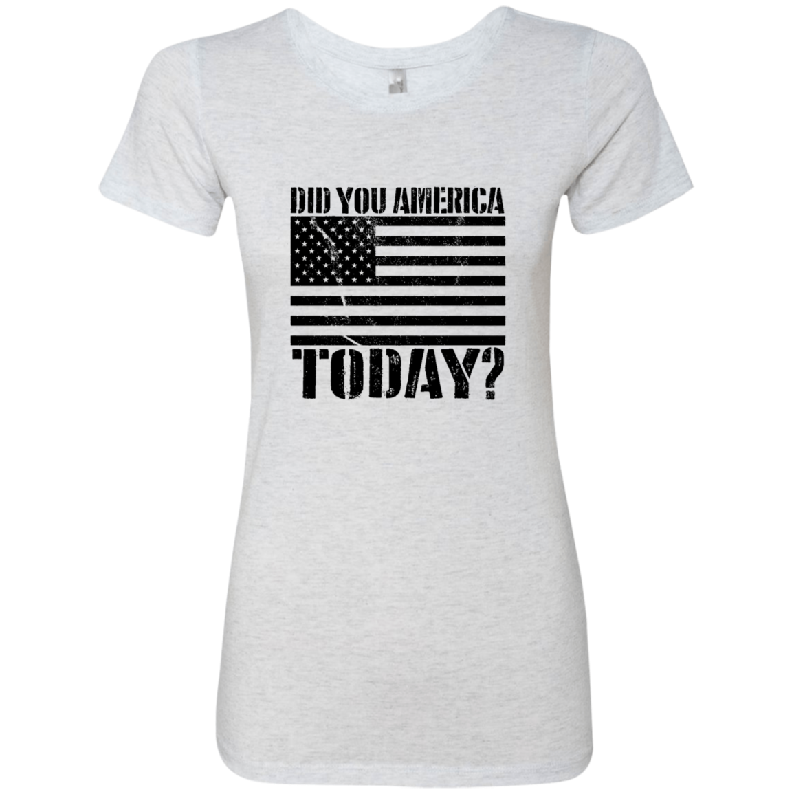 Did You America Today Women's Classic Tee