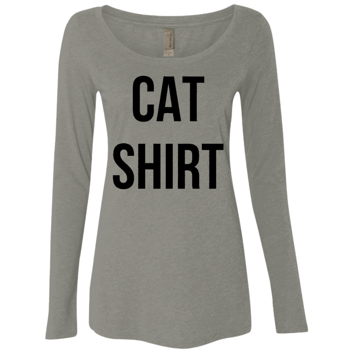 Cat Shirt Women's Long Sleeve Tee - Trendy Tees