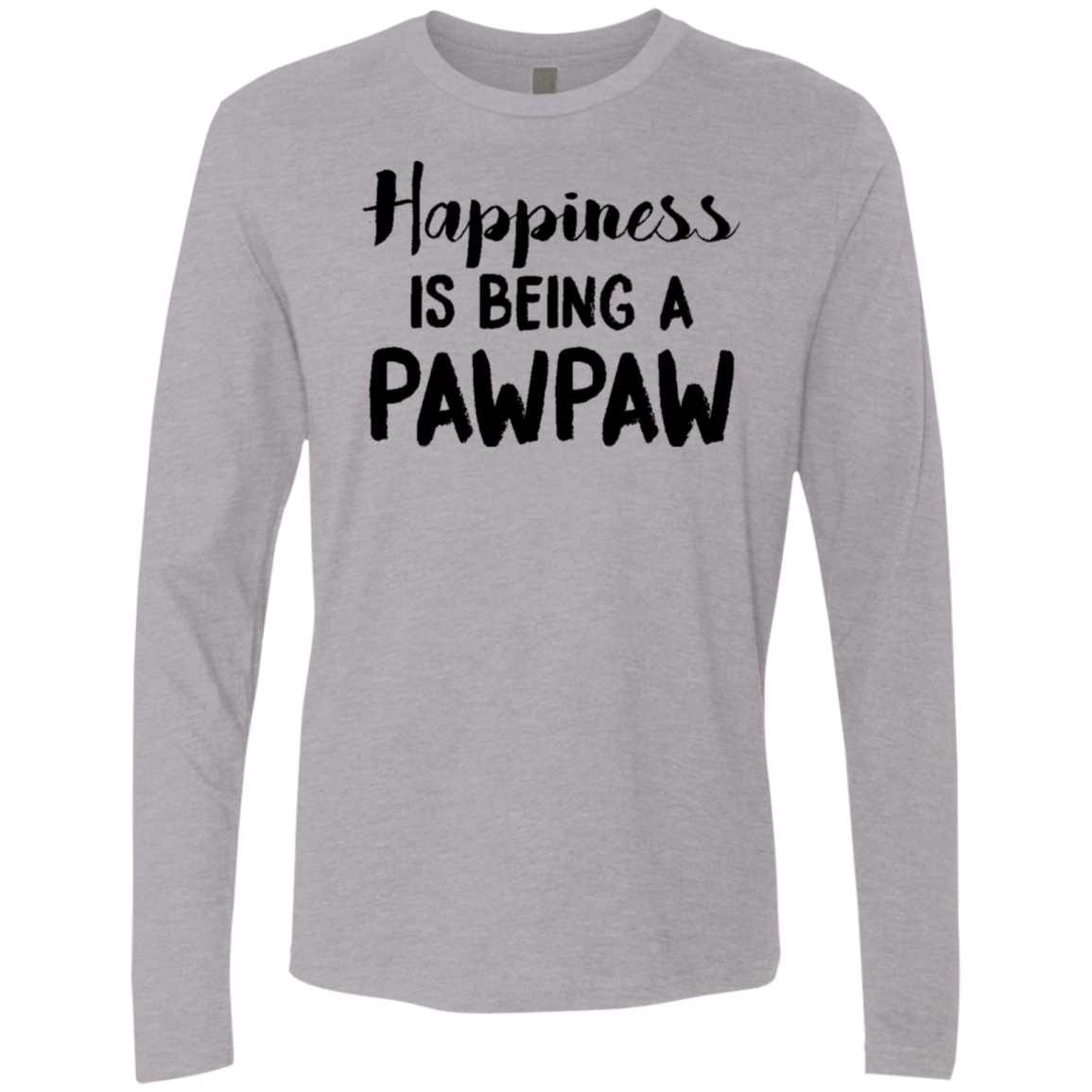 Happiness Is Being A Pawpaw Men's Long Sleeve Tee
