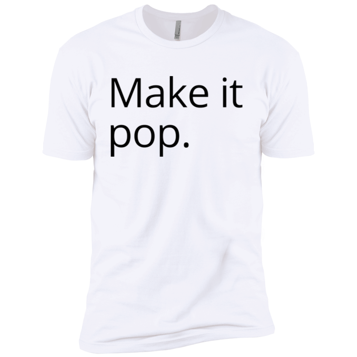 Make it Pop Men's Classic Tee