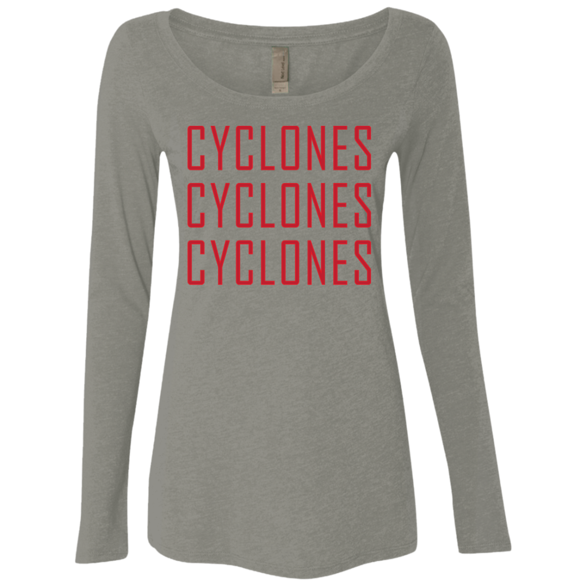 Cyclones Cyclones Cyclones Women's Long Sleeve Tee
