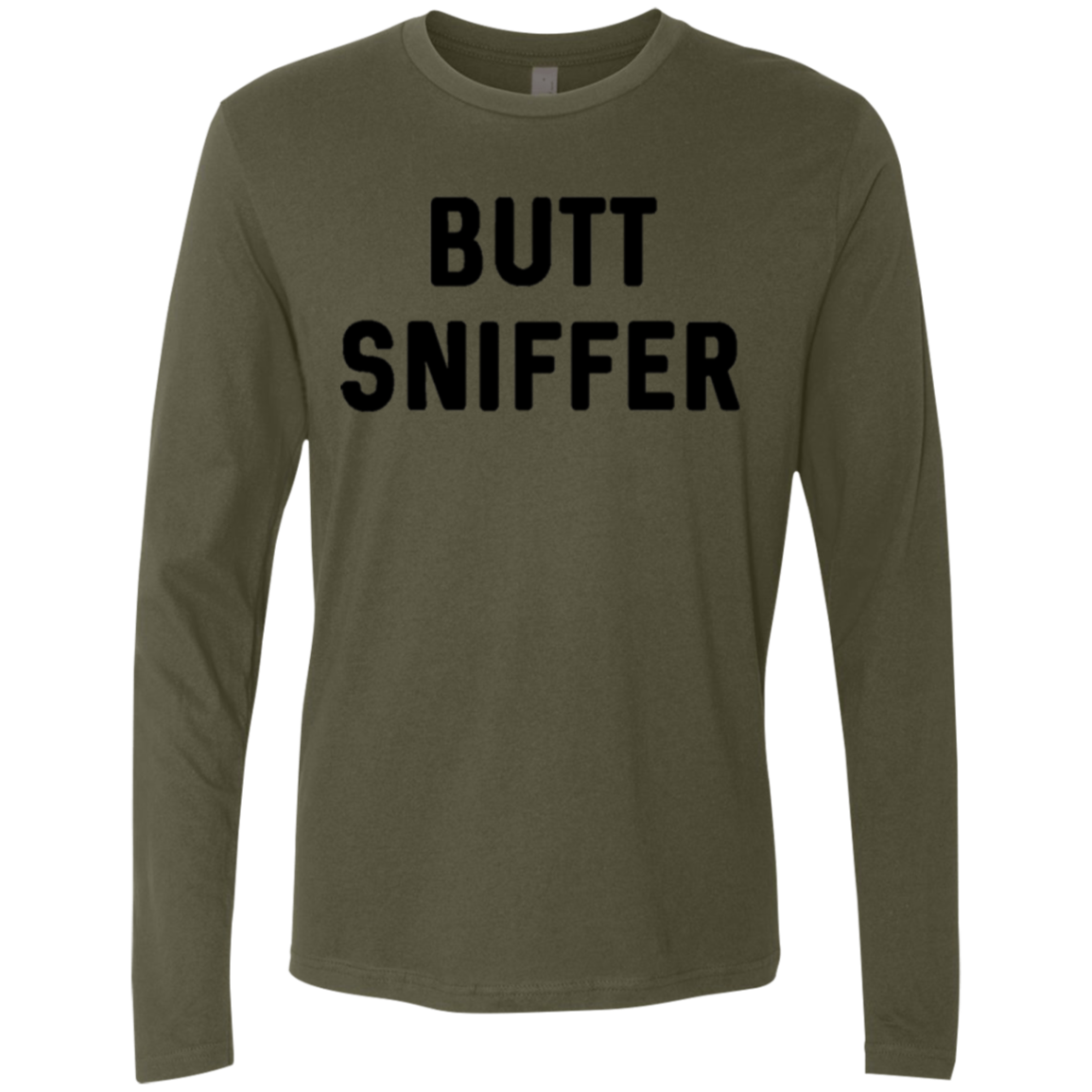 Butt Sniffer Men's Long Sleeve Tee - Trendy Tees