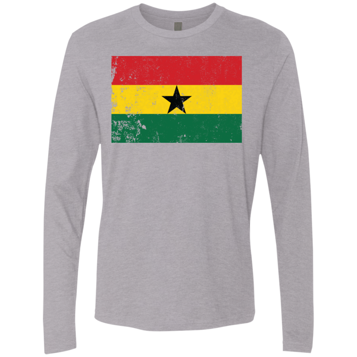 Ghana Men's Long Sleeve Tee