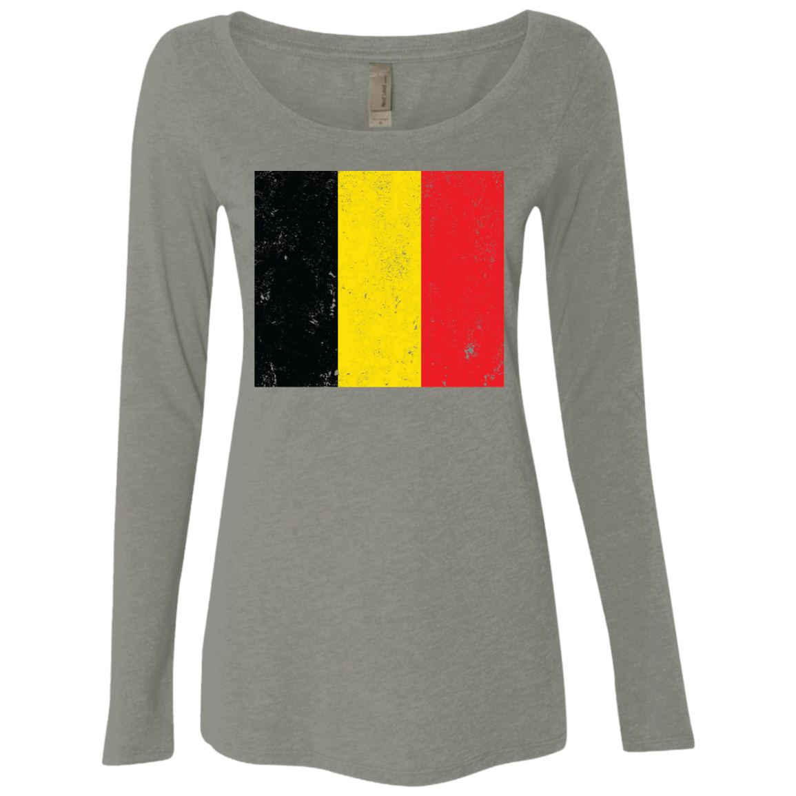 Belgium Women's Long Sleeve Tee