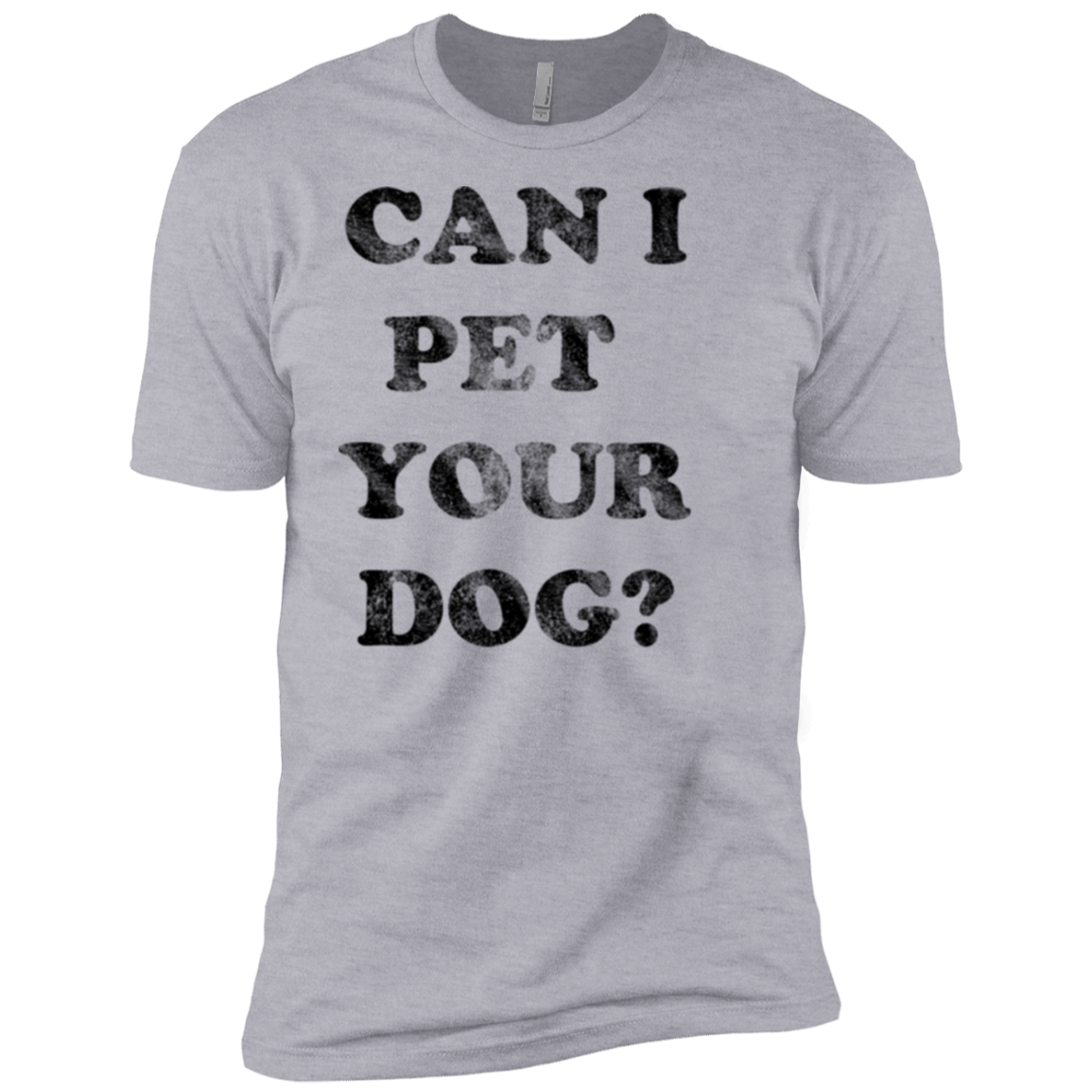 Can I Pet Your Dog Men's Classic Tee