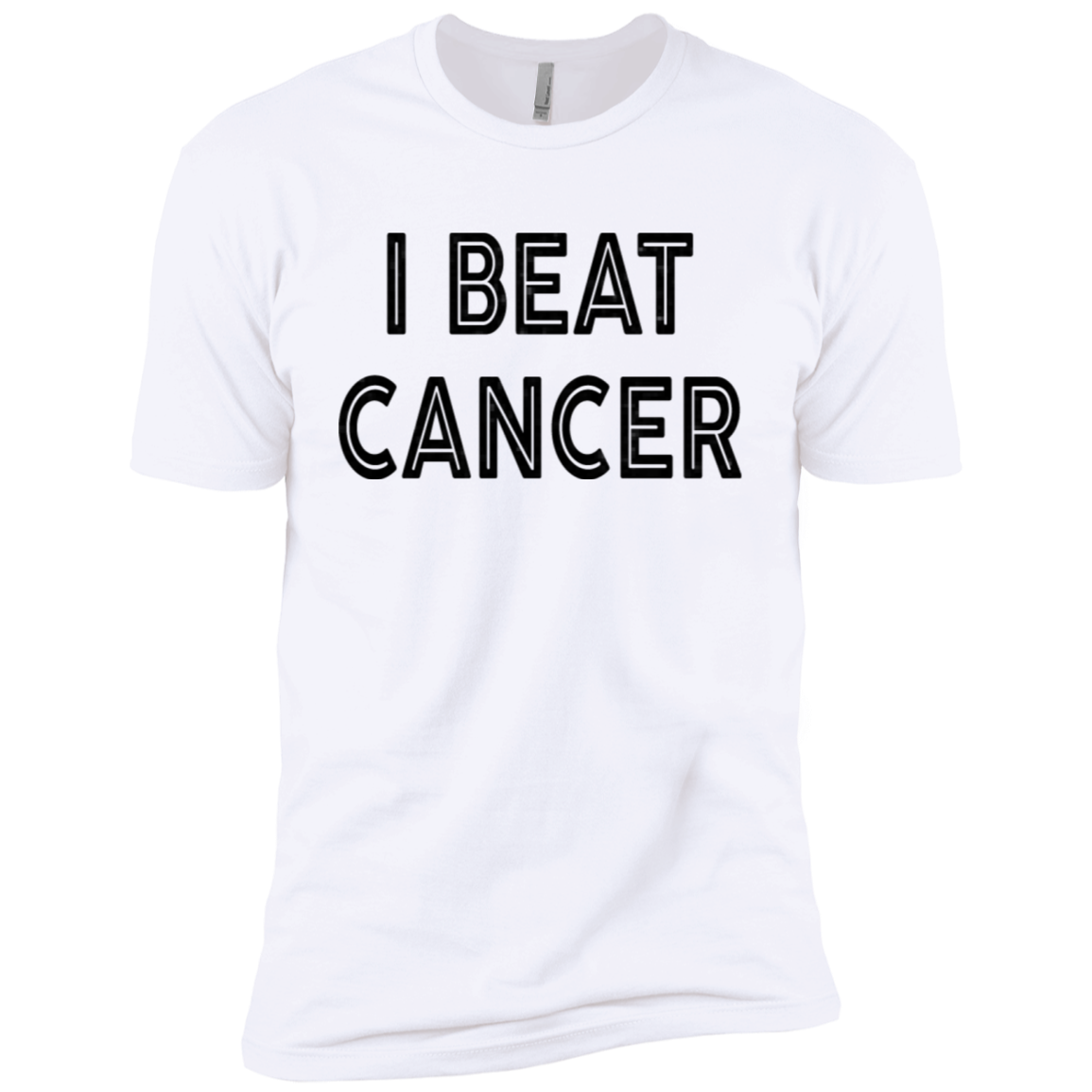 I Beat Cancer Men's Classic Tee