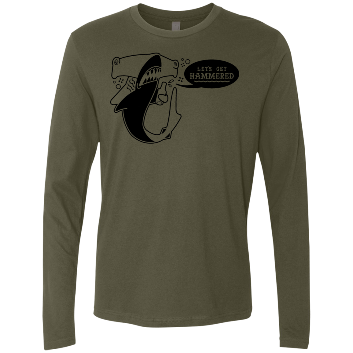 Let's Get Hammered Men's Long Sleeve Tee