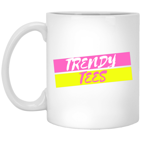 Trendy Tees Official Licensed 11 oz. White Mug