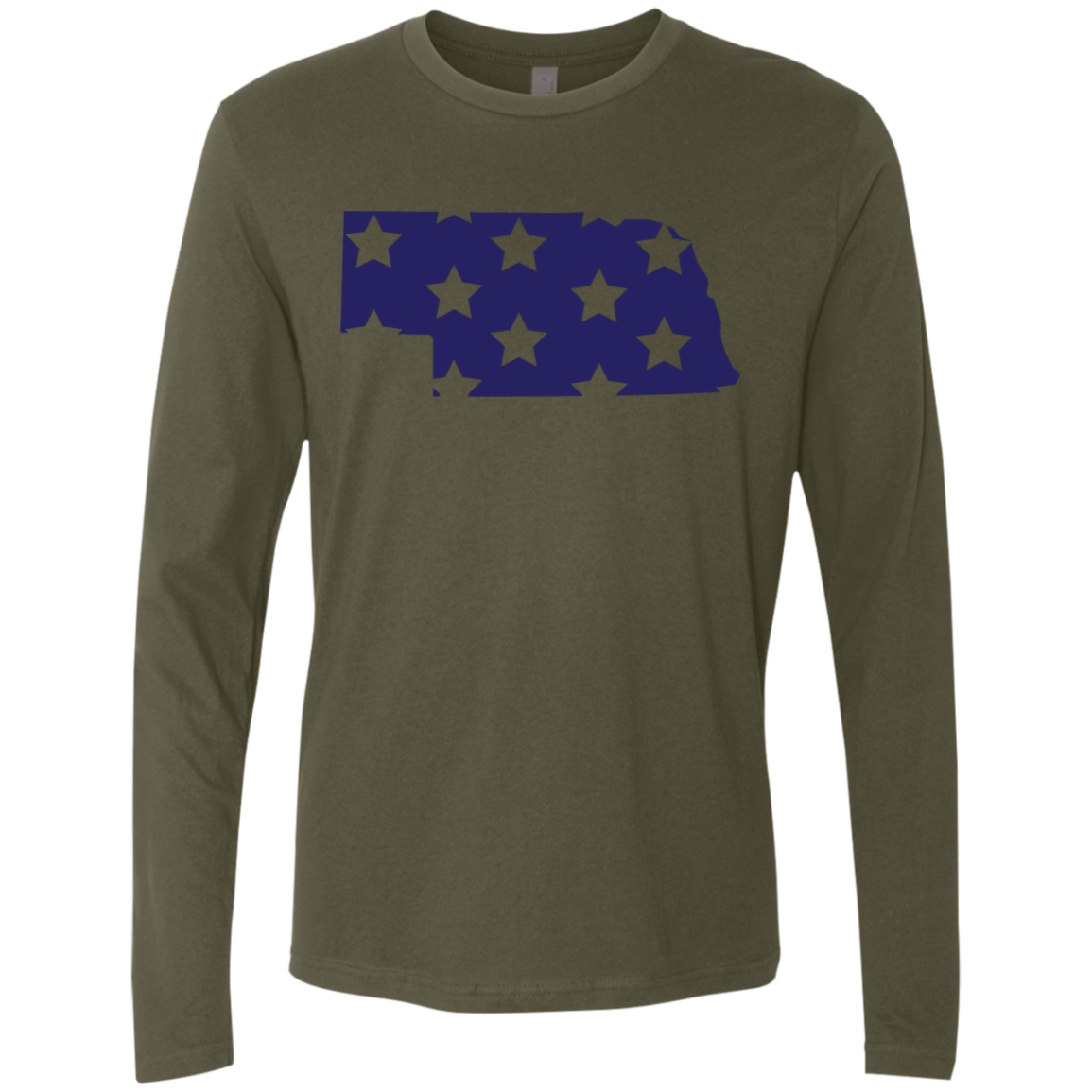 Nebraska Stars Men's Long Sleeve Tee