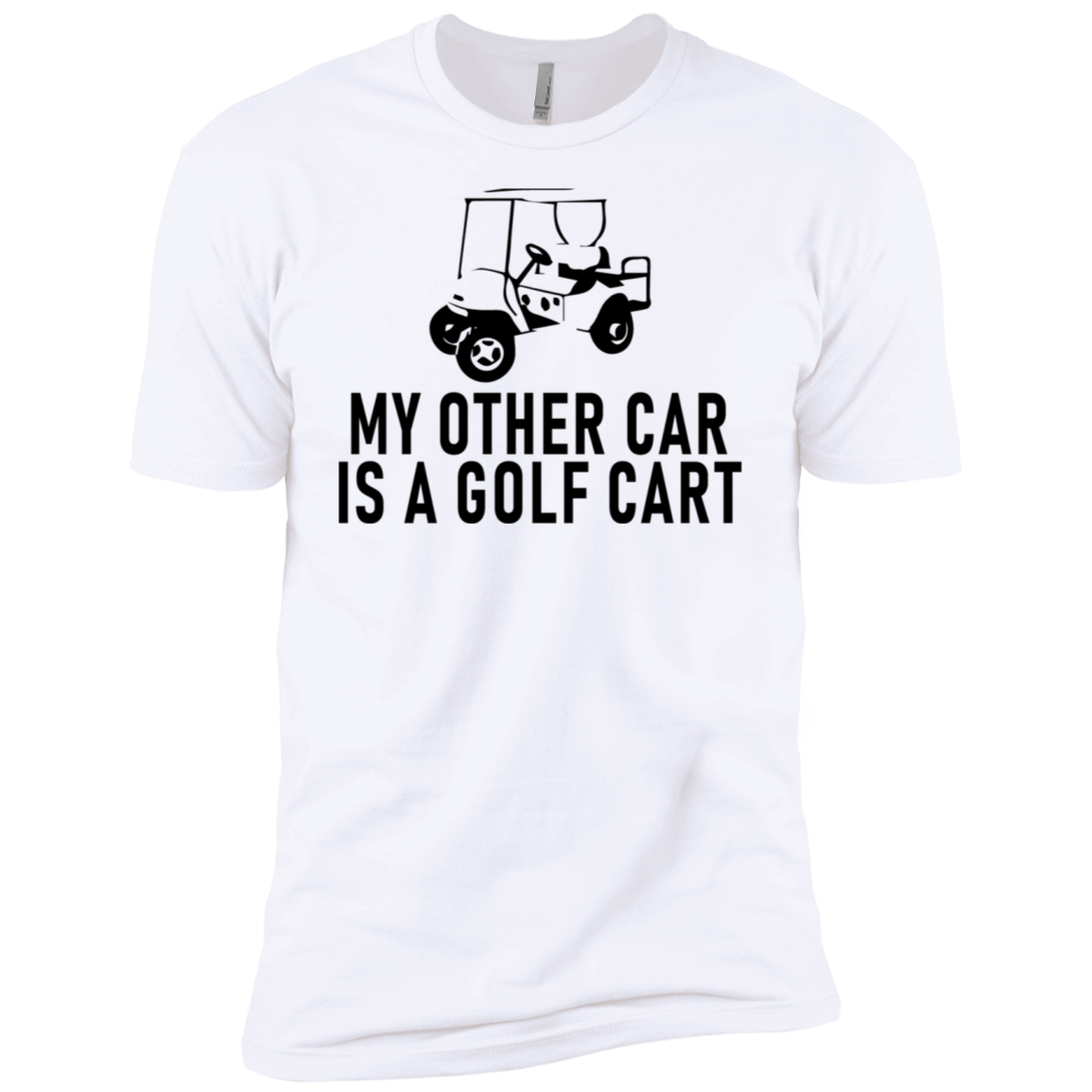 My Other Car Is A Golf Cart Men's Classic Tee