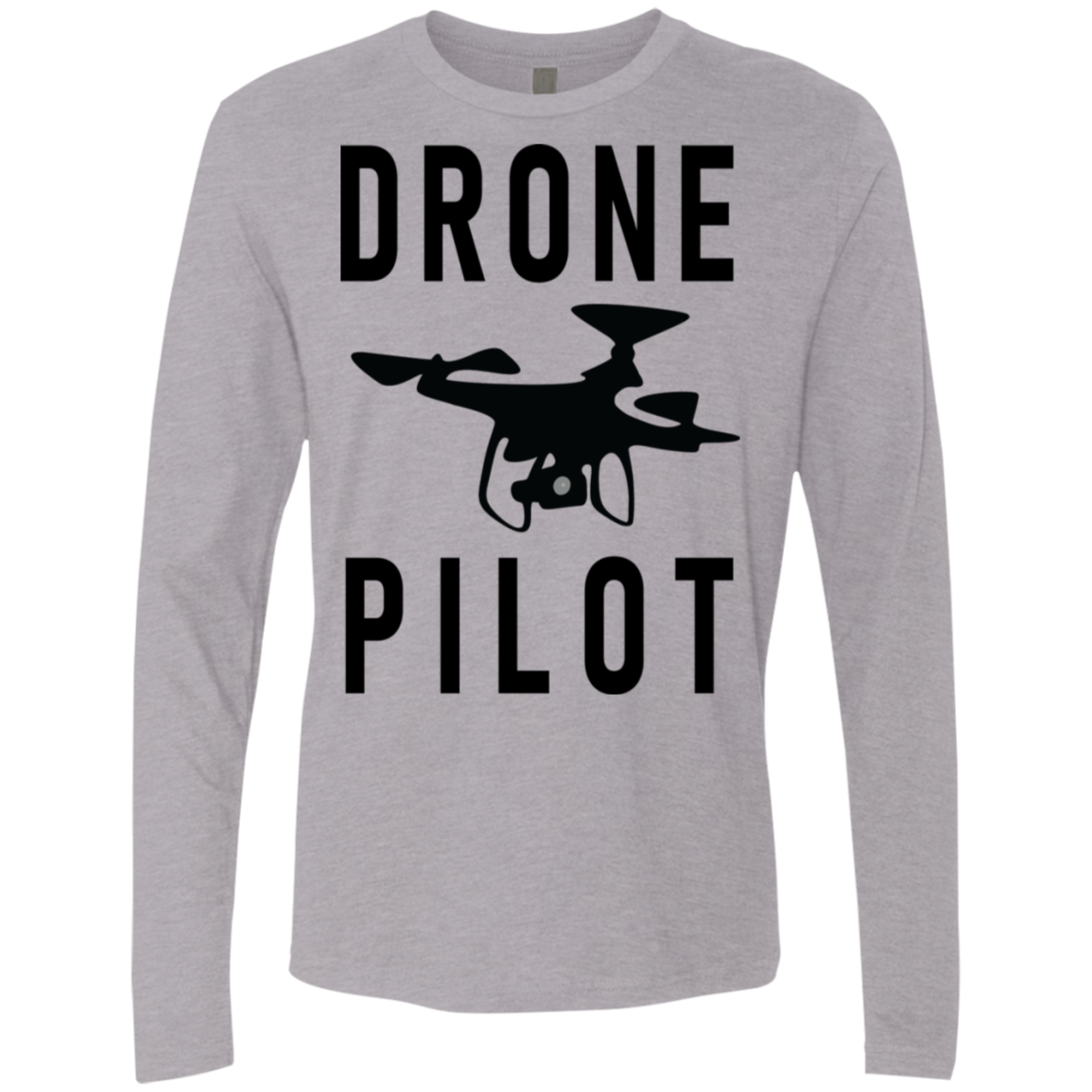 Drone Pilot Men's Long Sleeve Tee