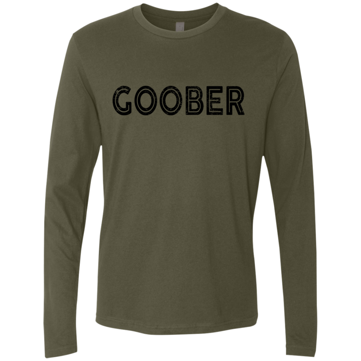 Goober Men's Long Sleeve Tee