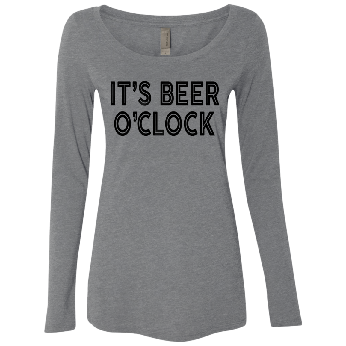It's Beer O'Clock Women's Long Sleeve Tee