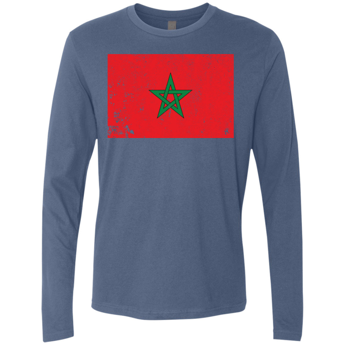 Morocco Men's Long Sleeve Tee