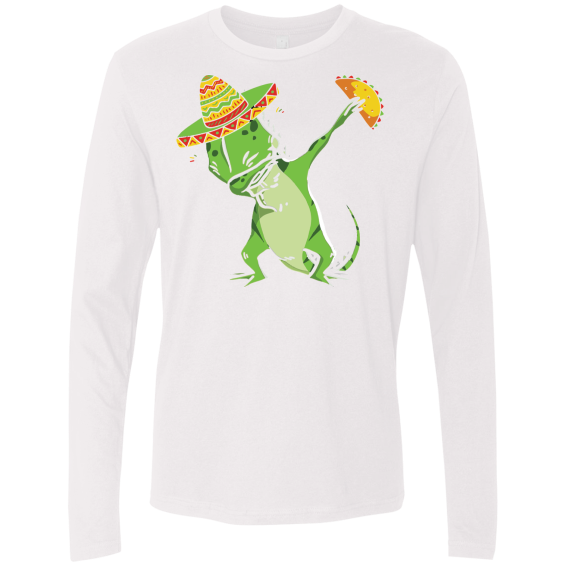 Gecko Dab Men's Long Sleeve Tee