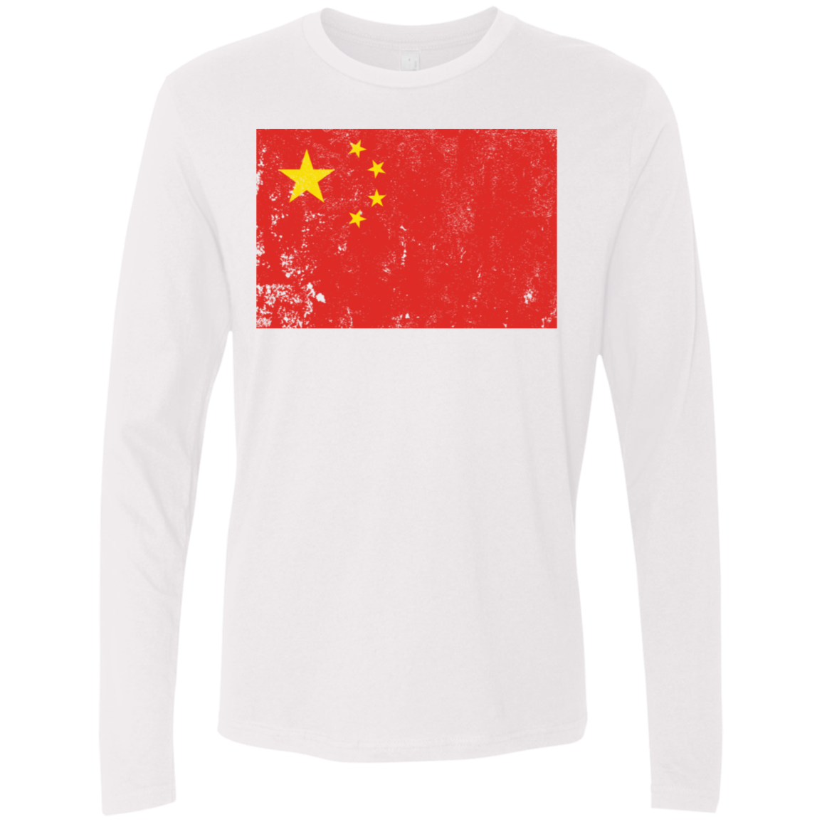 China Men's Long Sleeve Tee