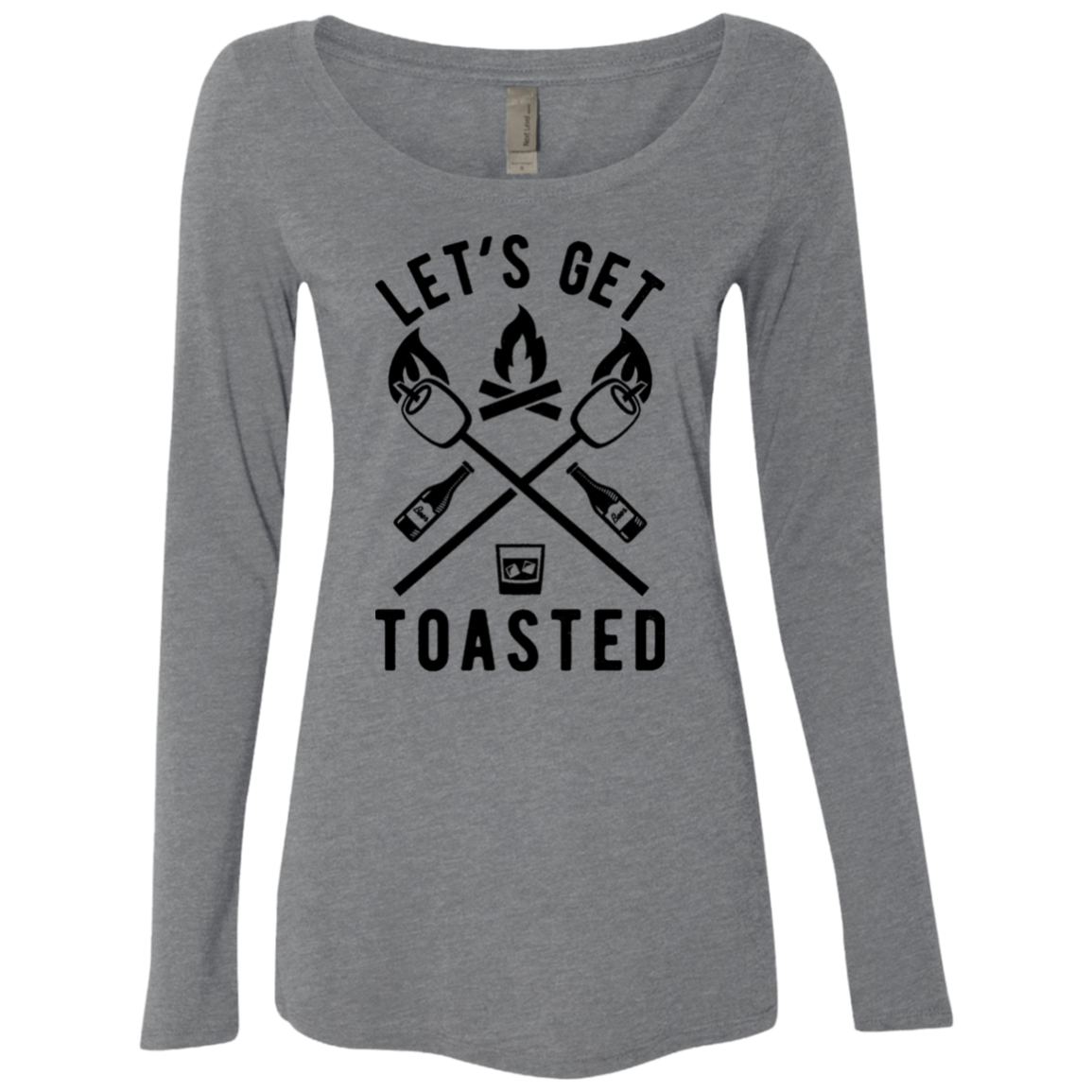 Let's Get Toasted Women's Long Sleeve Tee