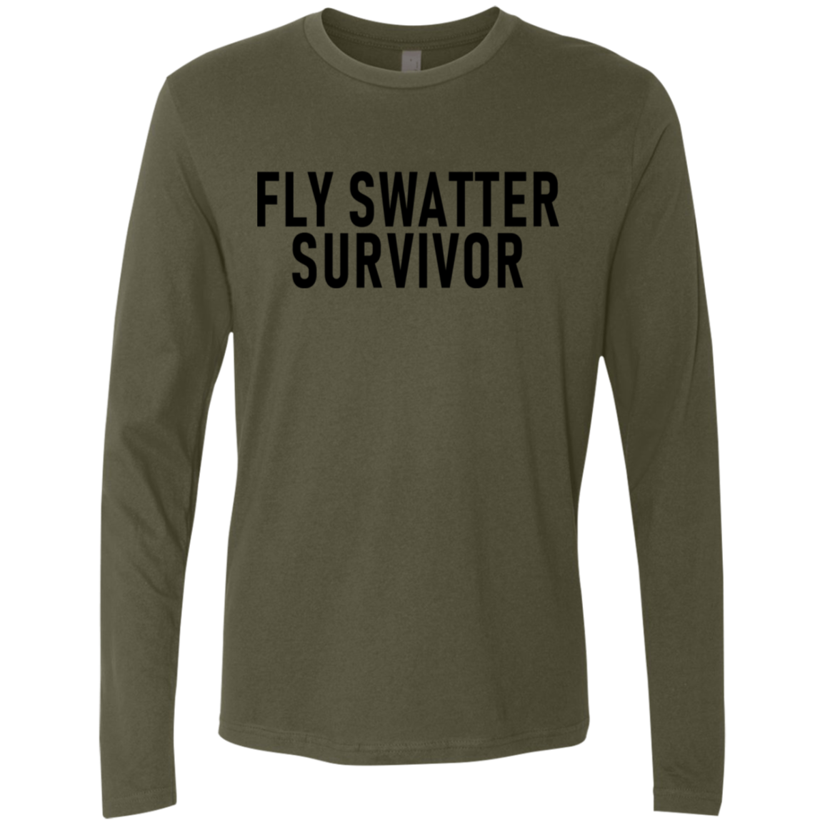 Fly Swatter Survivor Men's Long Sleeve Tee