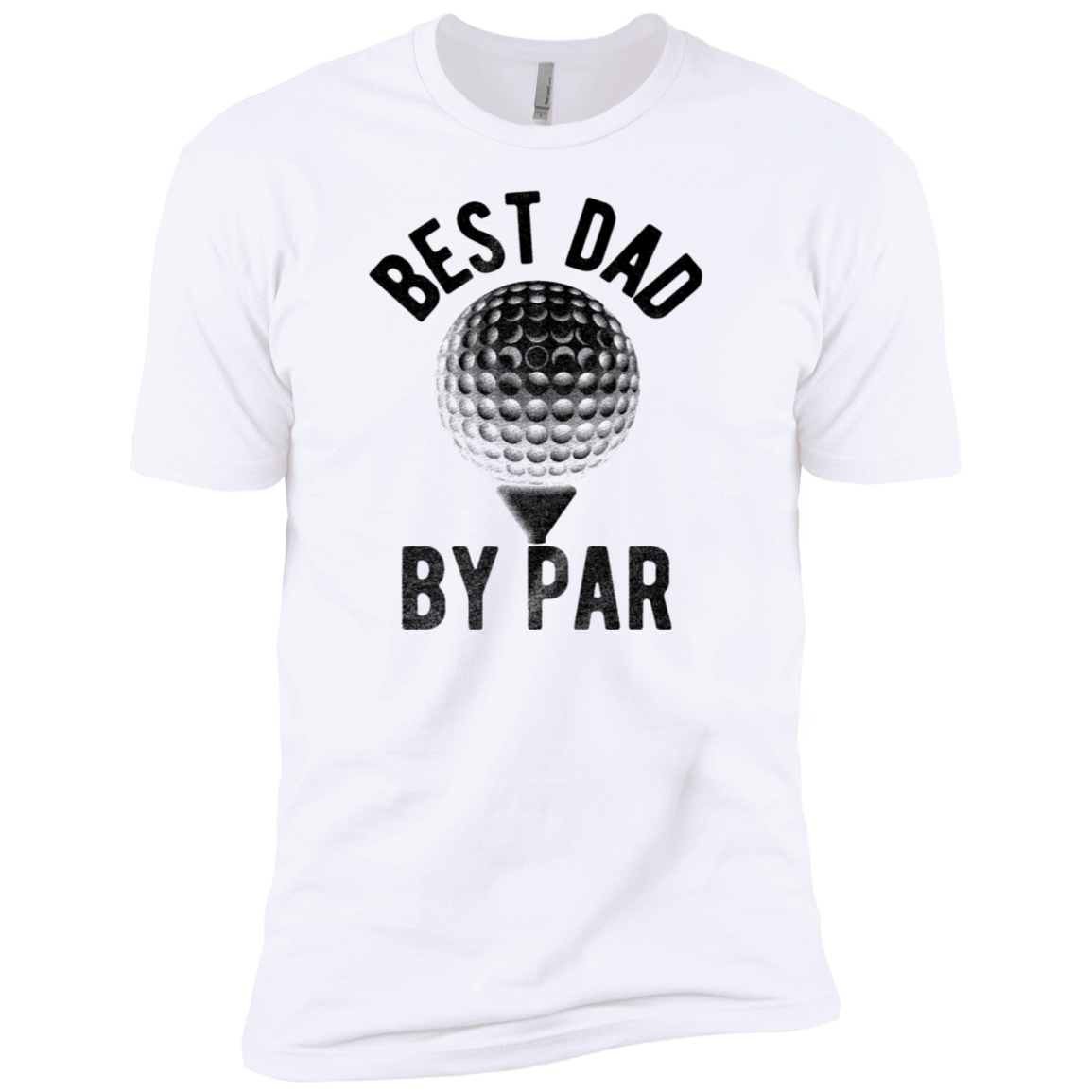 Best Dad by Par Men's Classic Tee - Trendy Tees