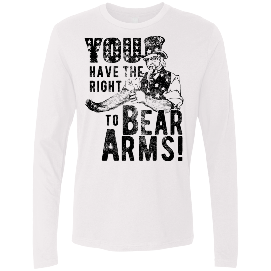 Right to Bear Arms Men's Long Sleeve Tee