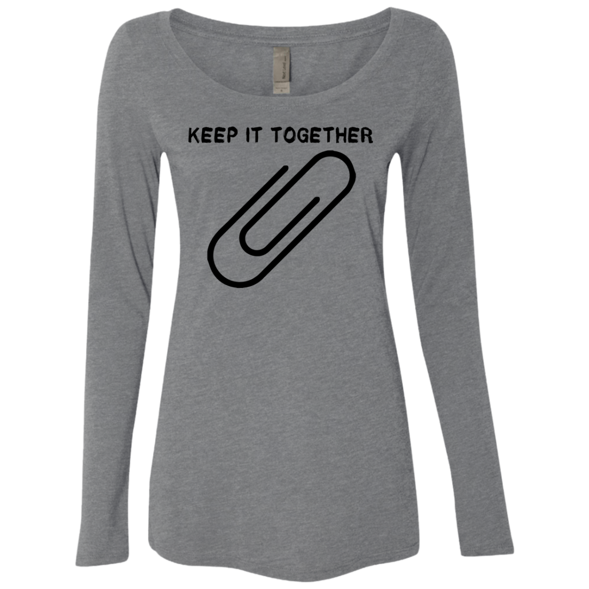 Keep It Together Women's Long Sleeve Tee