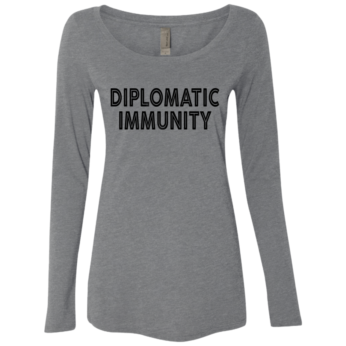 Diplomatic Immunity Women's Long Sleeve Tee