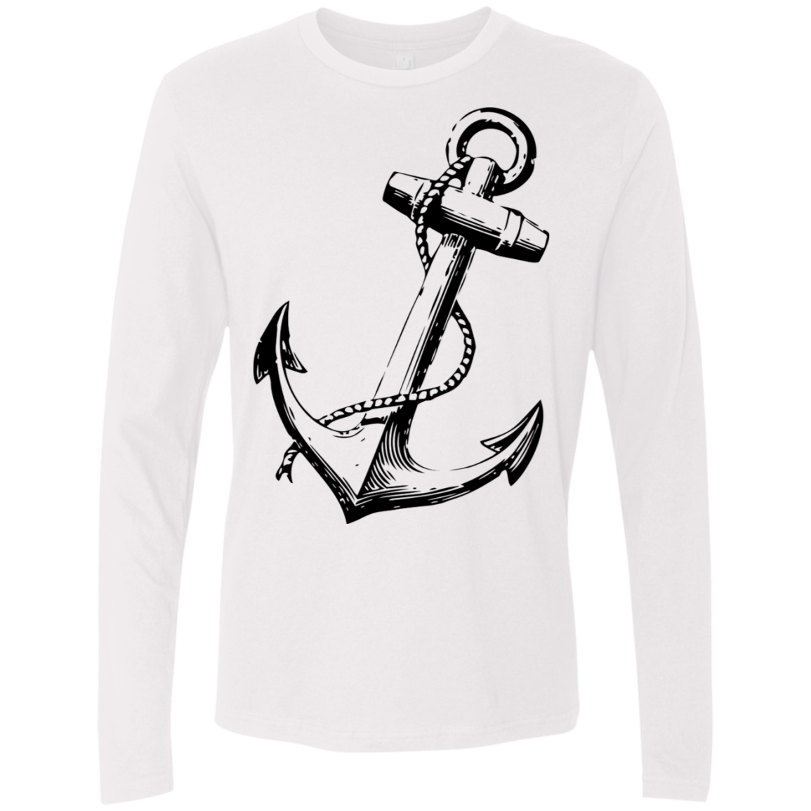 Anchors Away Men's Long Sleeve Tee
