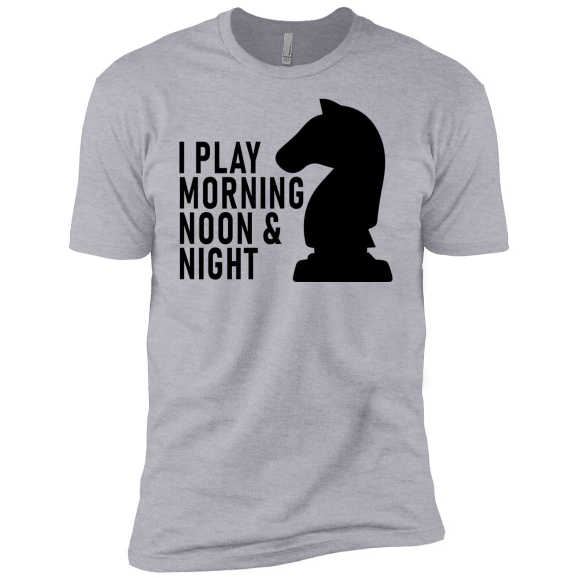 I Play Morning Noon And Night Men's Classic Tee