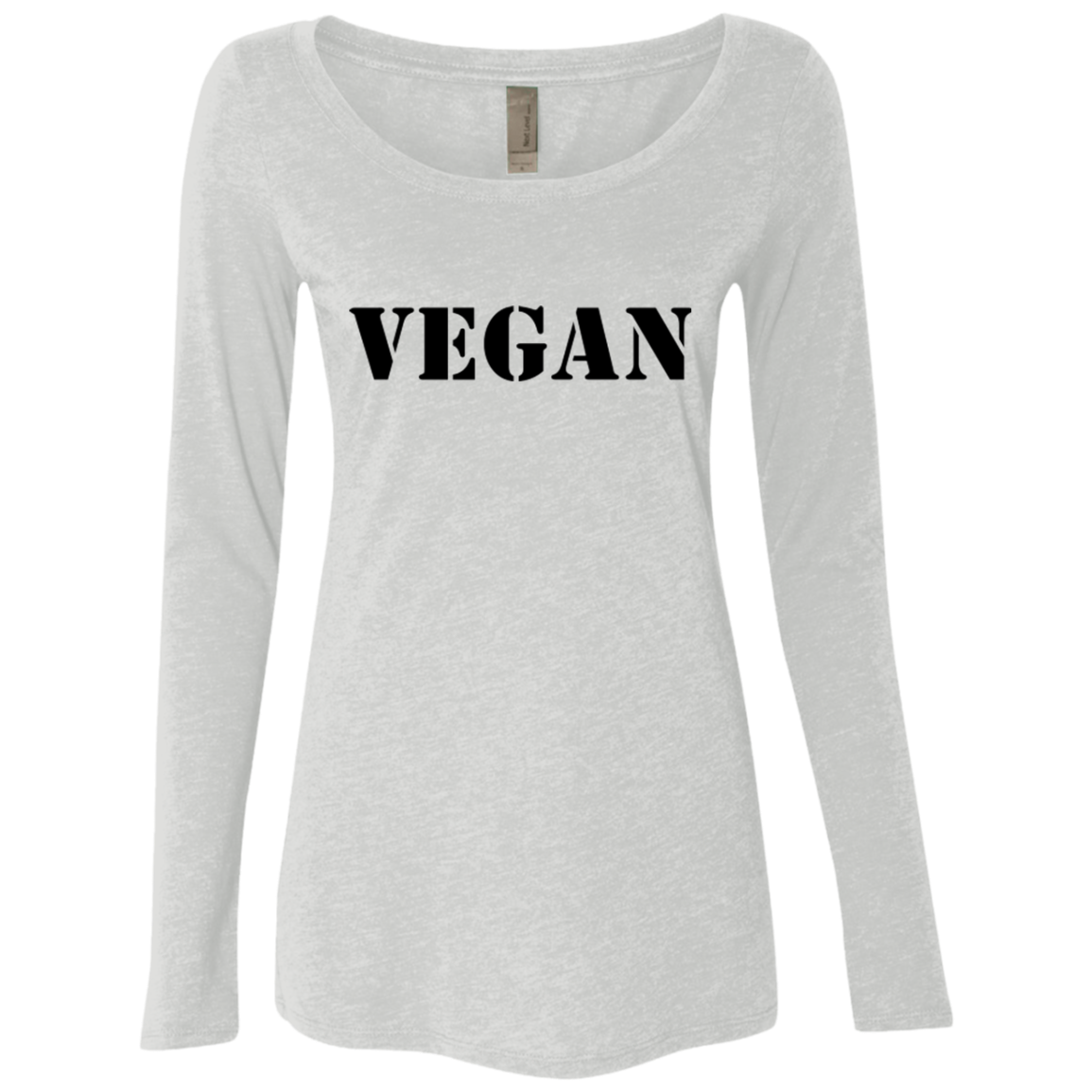 Vegan Bold Women's Long Sleeve Tee