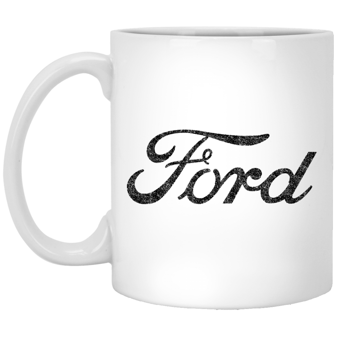 Ford Logo 11 oz. White Coffee Mug