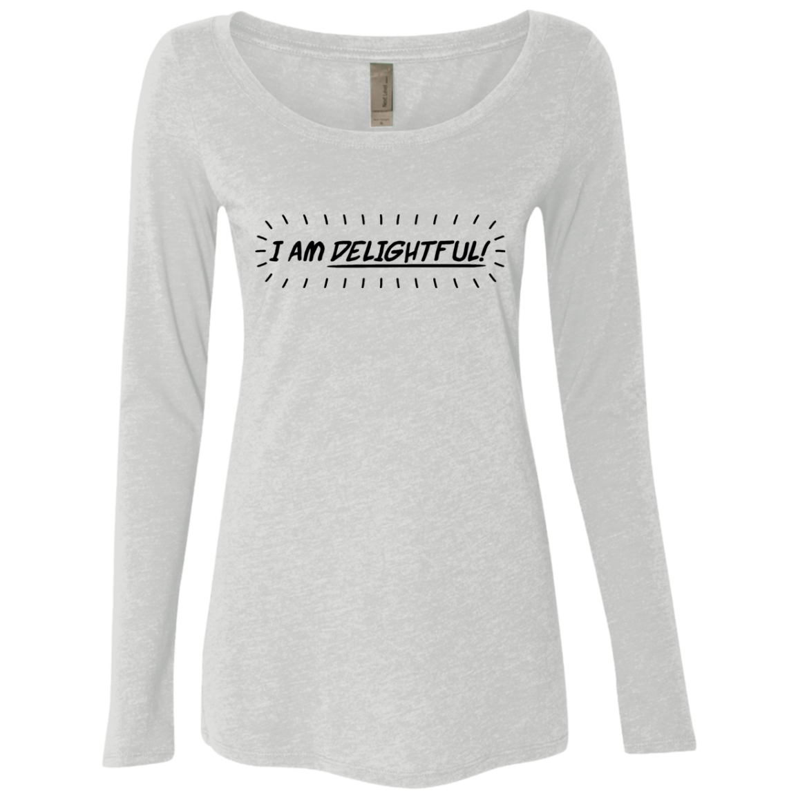 I'm Delightful Women's Long Sleeve Tee