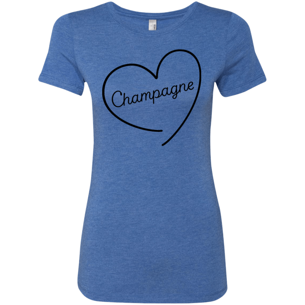 Champagne Love Women's Classic Tee - Trendy Tees