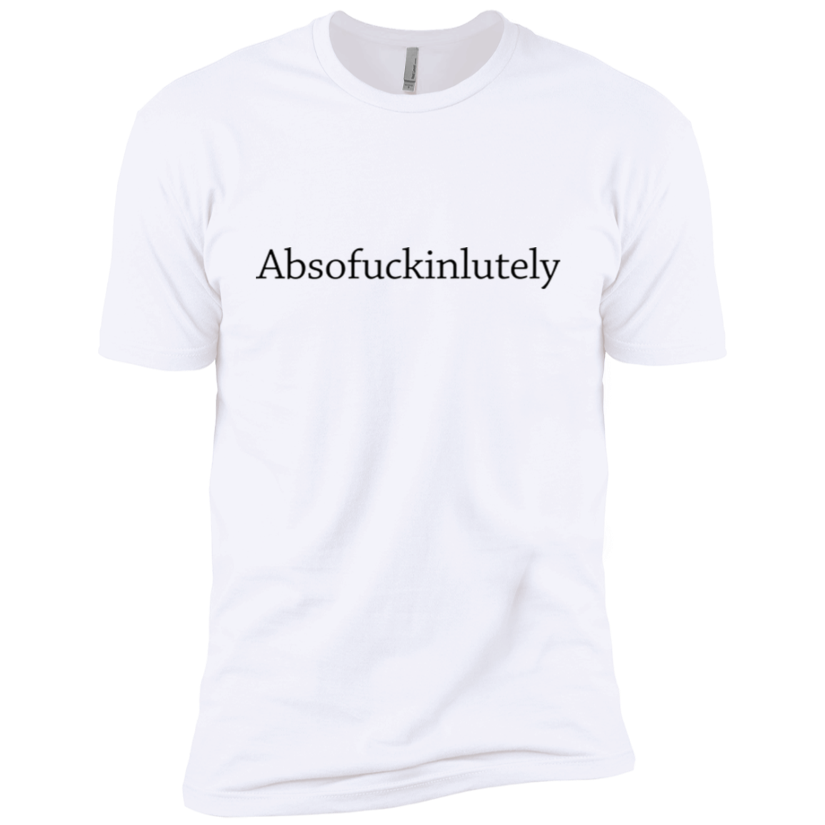 Absofuckinlutely Men's Classic Tee - Trendy Tees