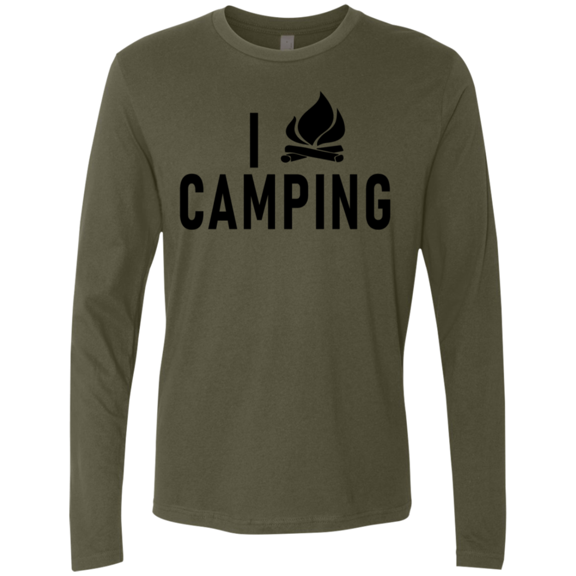 I love Camping Men's Long Sleeve Tee