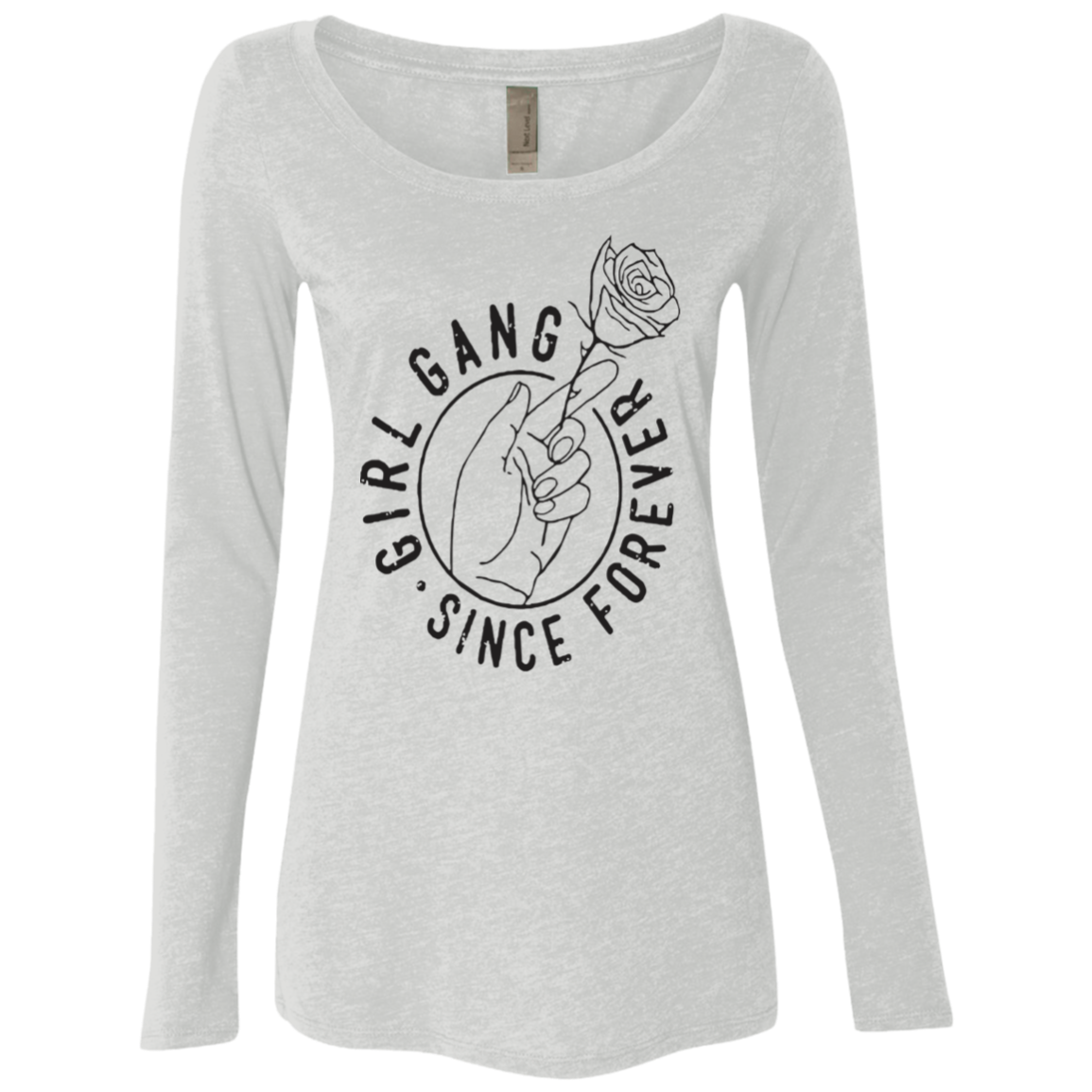 Girl Gang (3) Women's Long Sleeve Tee
