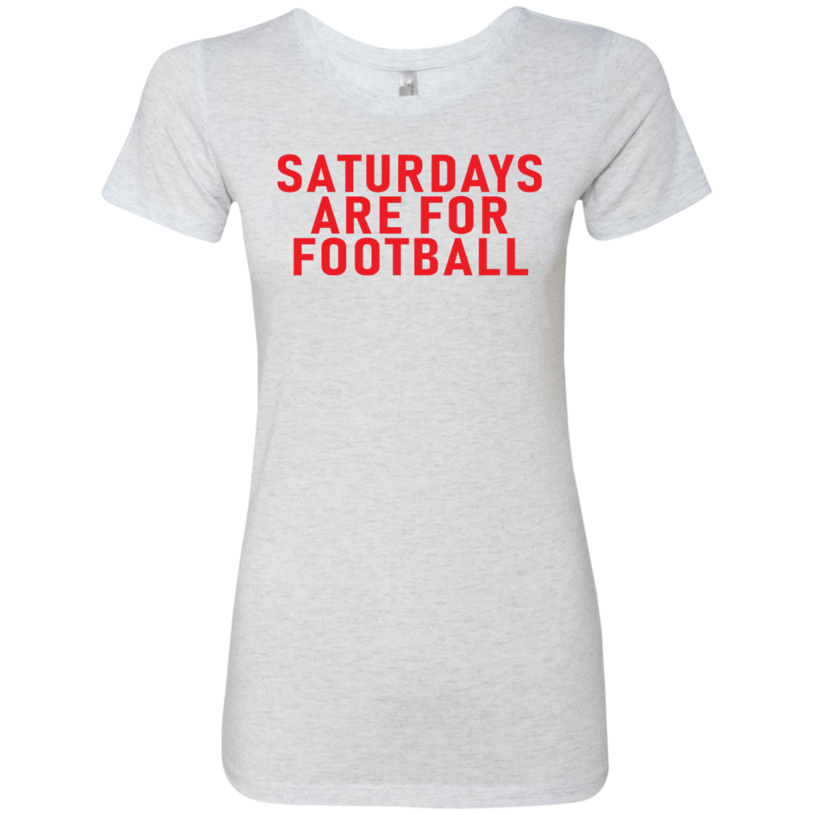 Saturdays Are For Football Women's Classic Tee
