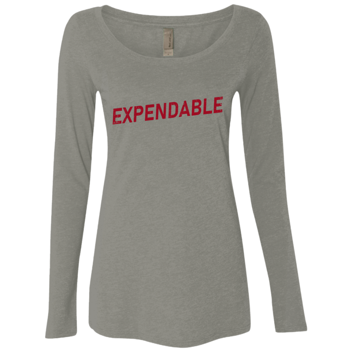 Expendable Women's Long Sleeve Tee