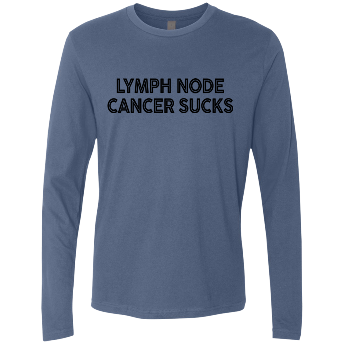 Lymph Node Cancer Sucks Men's Long Sleeve Tee