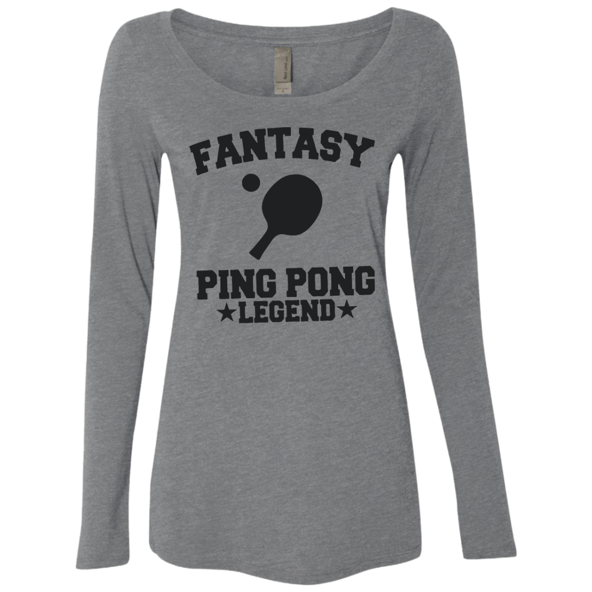 Fantasy Ping Pong Legend Women's Long Sleeve Tee