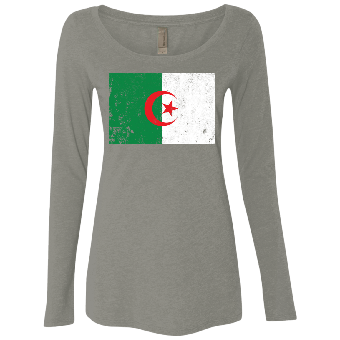 Algeria Women's Long Sleeve Tee